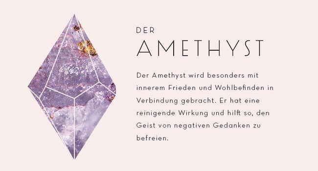 Amethyst Edelstein