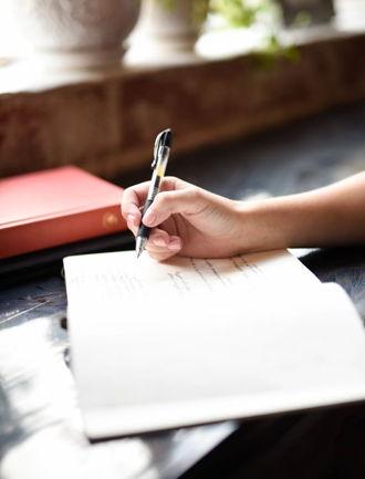 Neujahrsvorsatz verfassen und aufschreiben
