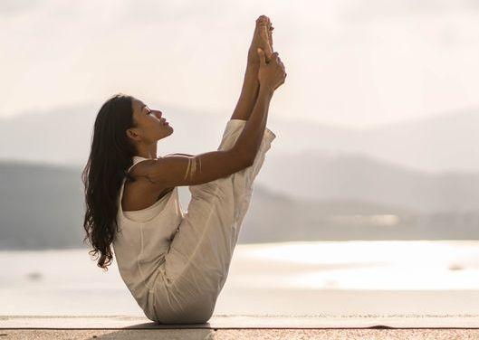 Yoga Pose Entspannung