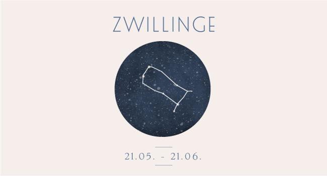 Sternbild Sternzeichen Zwilling