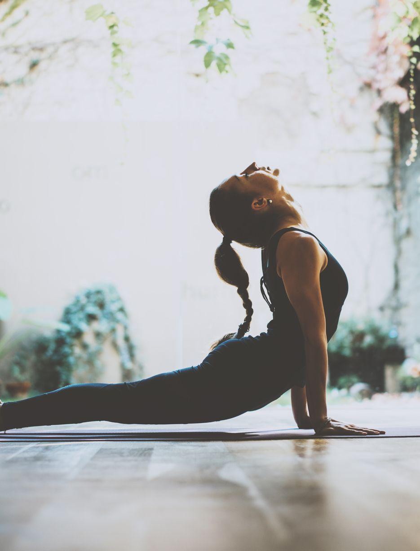 Yoga Übung Dehnen
