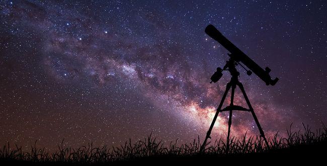 Teleskop Sternbild