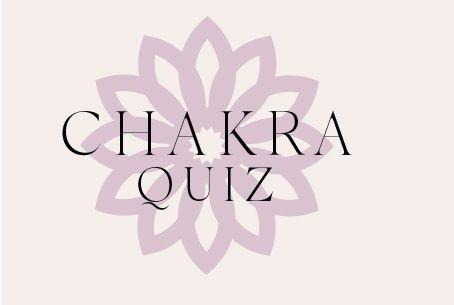 Chakra Quiz mit Blumenmuster