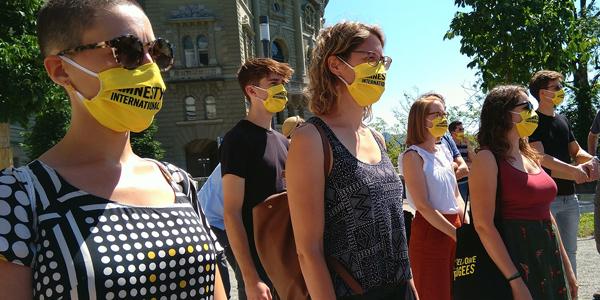 Amnesty International Mahnwache