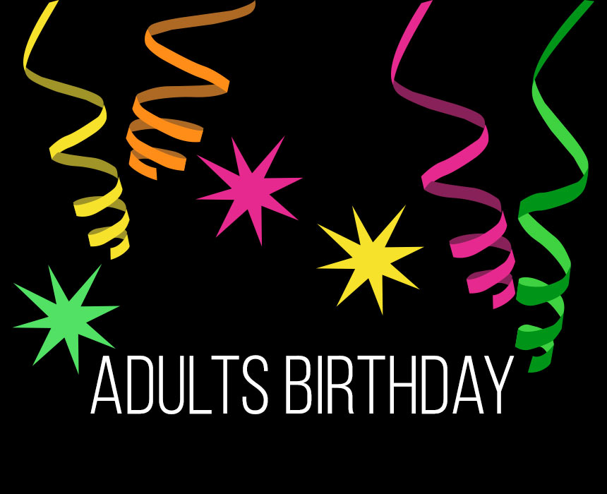 Adults Birthday
