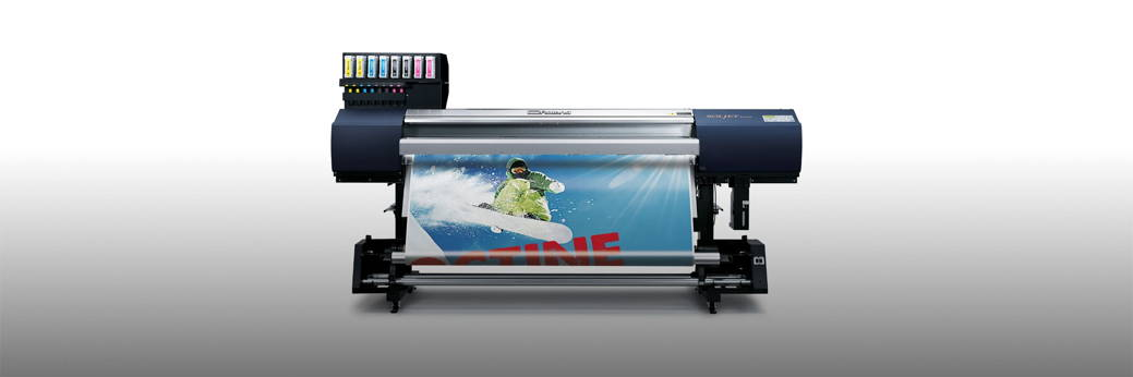 McLogan Supply Company : Roland Soljet EJ-640 Wide Format Printer