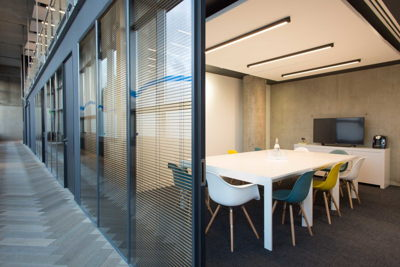 meeting room modern glass