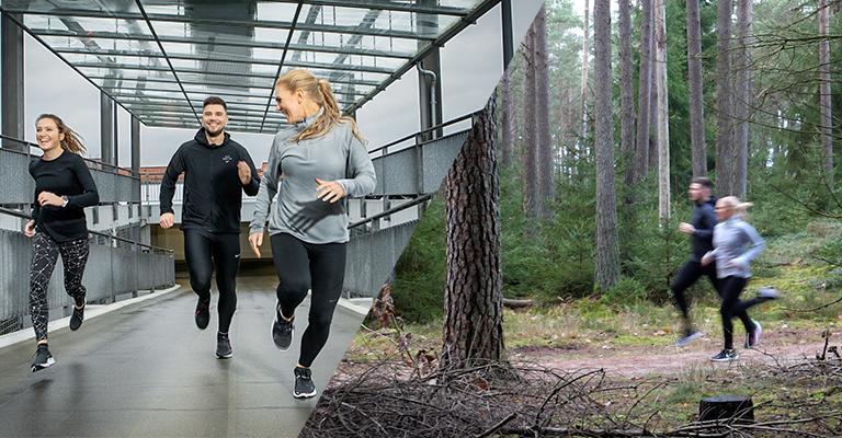 Løbetræning med fysioterapeut og løber Jacob Rosenkrans på udendørs løbebane