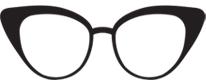 Cat eye sluneční brýle