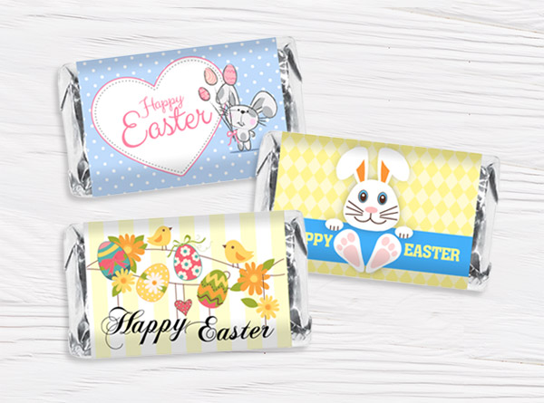 Easter Mini Bar Wrappers