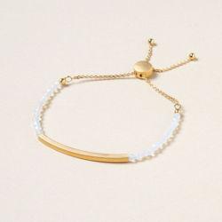 Goldenes Opal Armband