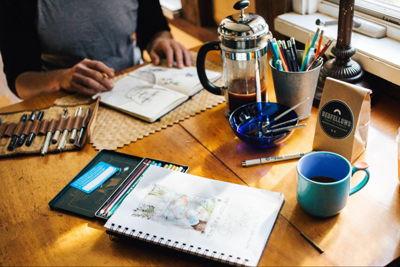 creative spaces meeting workshop art