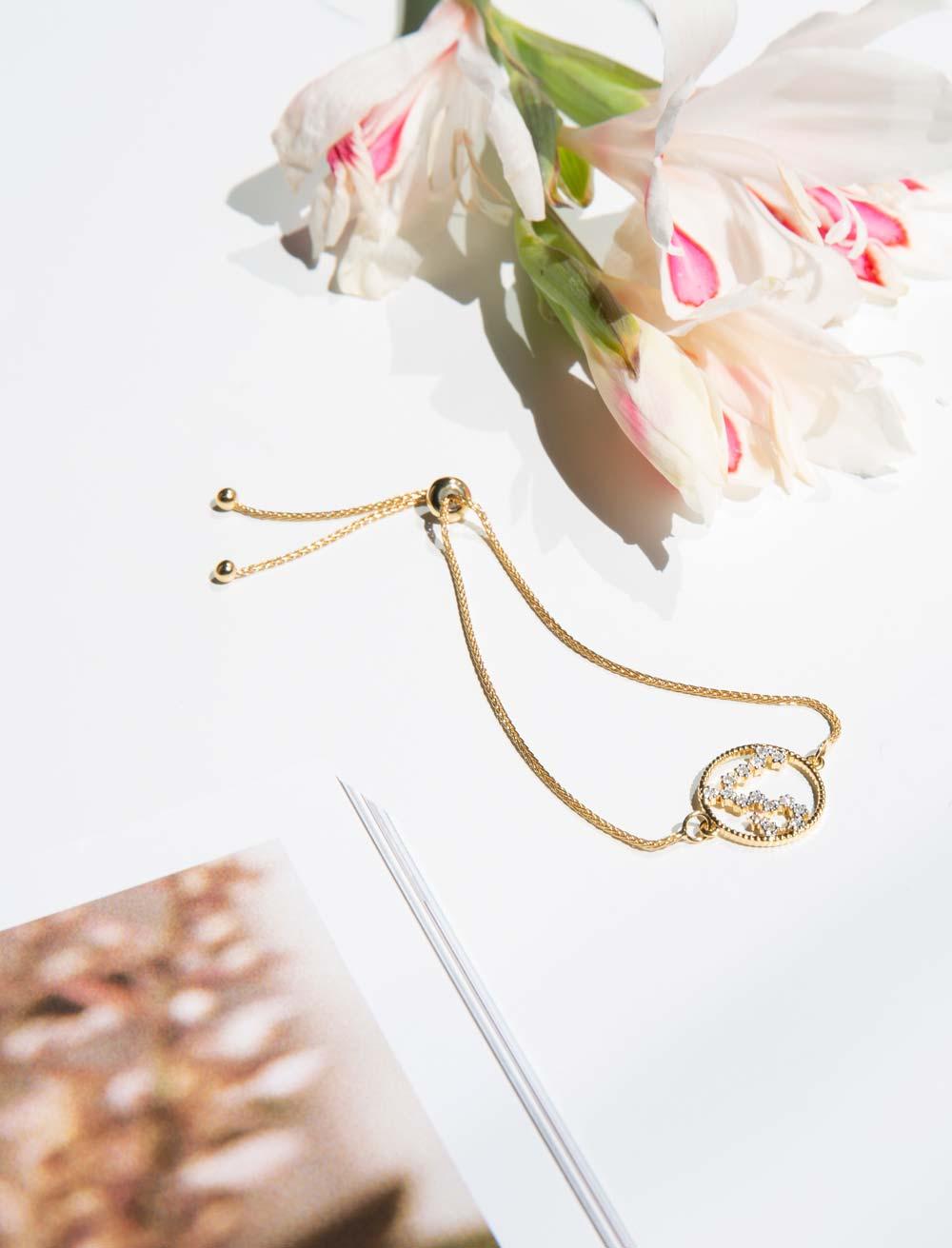 Diamant Sternzeichen Armband von Soul Zen