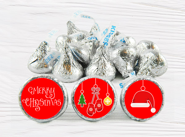 Christmas KISS Stickers