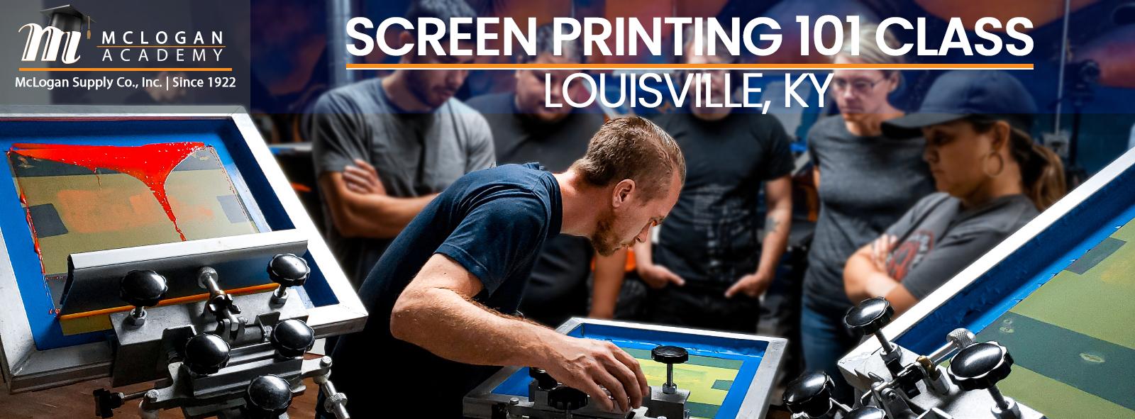 Screen printing class Louisville KY