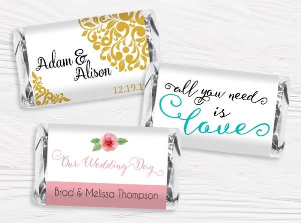 Wedding Mini Bar Wrappers