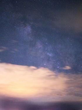 Nachthimmel Wolke