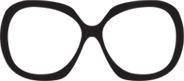 Oversize sluneční brýle