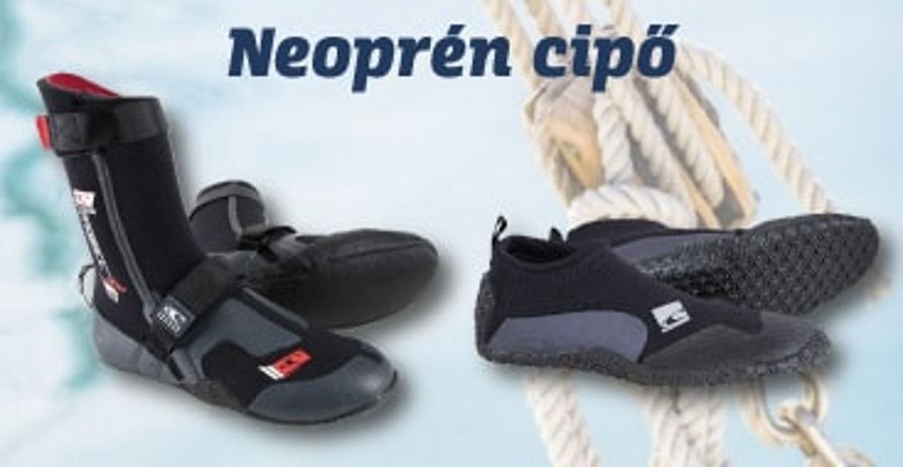 Neoprén cipő