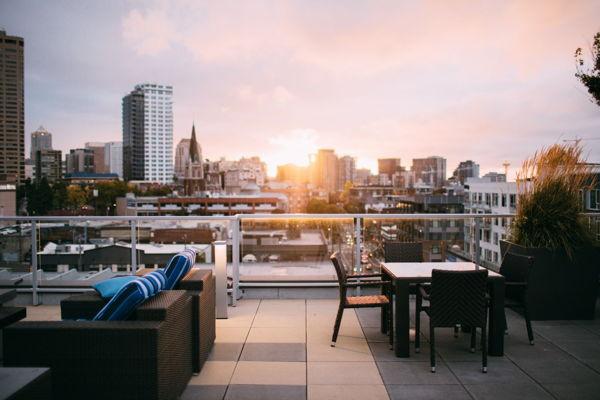 rooftop venue city centre summer