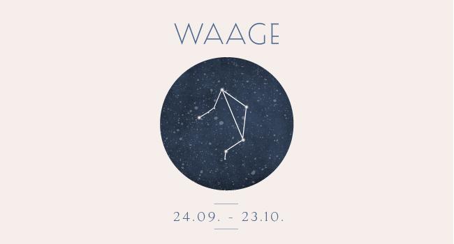 Sternbild Sternzeichen Waage